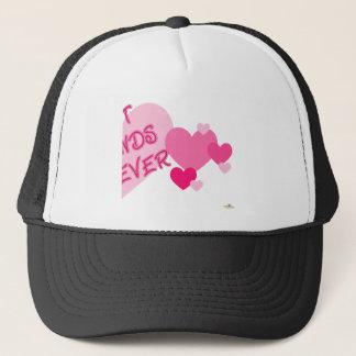 Best Friends Forever Pink Hearts Part 2 Trucker Hat