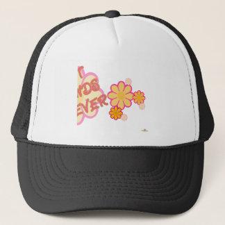 Best Friends Forever Pink Orange Flowers Part 2 Trucker Hat