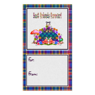 Best Friends Forever Pixel Art Double-Sided Standard Business Cards (Pack Of 100)