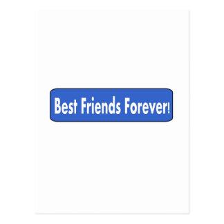 Best Friends Forever! Postcard