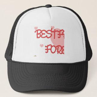 Best Friends Forever Red Lt Hearts Part 1 Trucker Hat