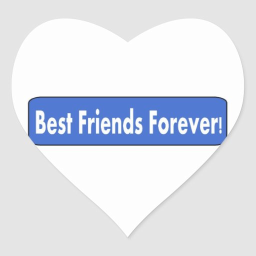 Best Friends Forever! Stickers