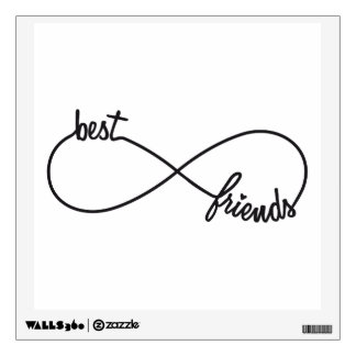 Best friends forever wall decal