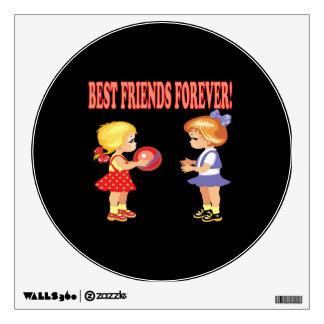 Best Friends Forever Wall Sticker