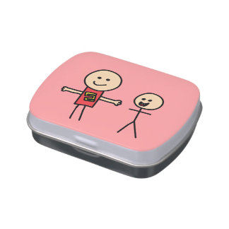 Best Friends Friendship Arms Open Wide Candy Tins