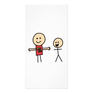 Best Friends Friendship Arms Open Wide Photo Card