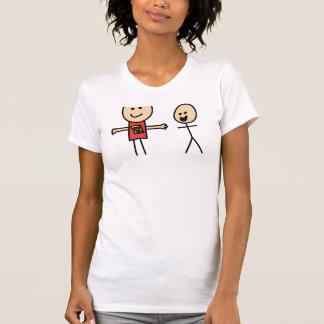 Best Friends Friendship Arms Open Wide T-shirt