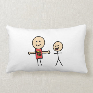 Best Friends Friendship Arms Open Wide Throw Pillow