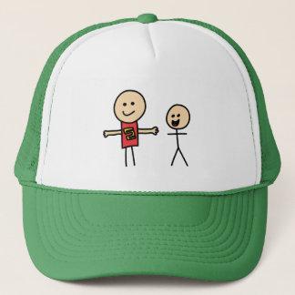 Best Friends Friendship Arms Open Wide Trucker Hat