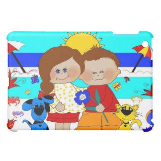 Best friends Fun At the Beach 2 iPad Mini Case