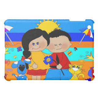 Best friends Fun At the Beach iPad Mini Case