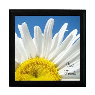 Best Friends! gift box Holidays White Daisy Flower