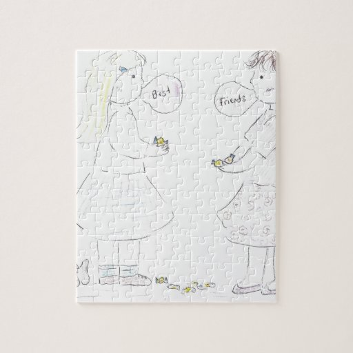 Best Friends Girls Puzzles