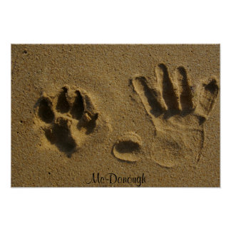 Best Friends Hand Prints