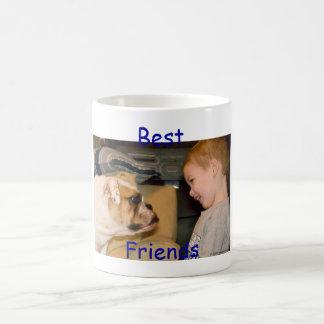 Best Friends Help support Bulldog Rescue Coffee Mug