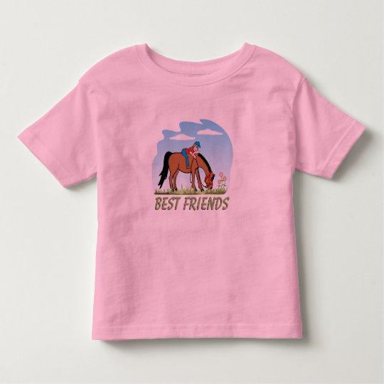 Best Friends Horse Shirt for Kids