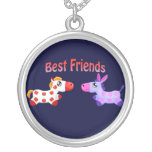 Best Friends Horses Pendant