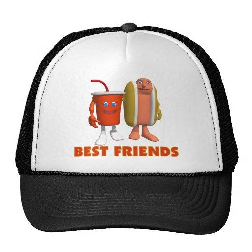 Best Friends Hot Dog & Soda Trucker Hat