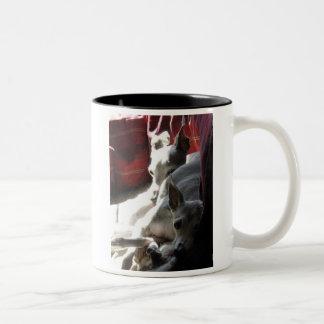 """Best Friends"" italian greyhound photo Two-Tone Coffee Mug"