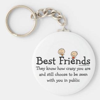 Best Friends Key Chains