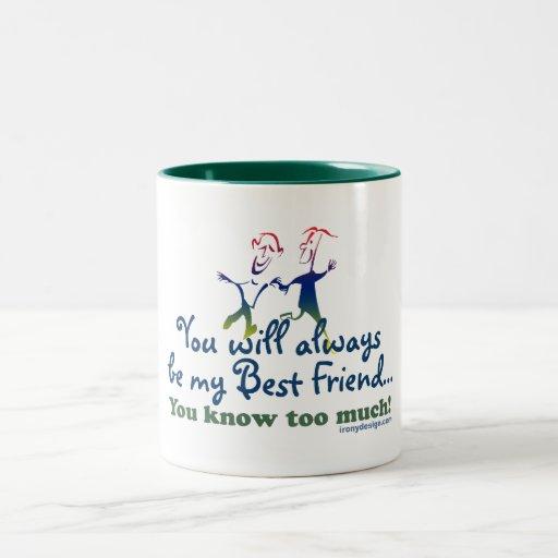 Best Friends Knows Mugs