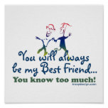 Best Friends Knows Posters