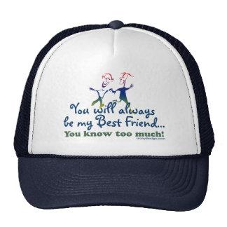 Best Friends Knows Trucker Hat