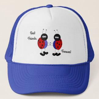 Best friends little ladybugs trucker hat