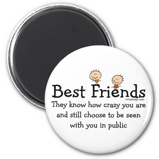 Best Friends Magnet