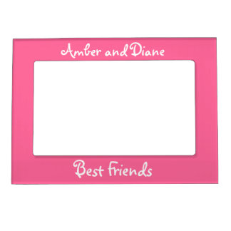Best Friends Magnetic Photo Frame