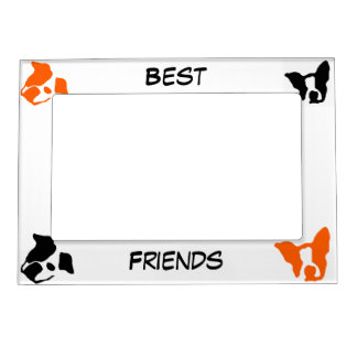Best Friends Magnetic Picture Frame