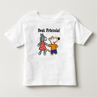 Best Friends Maisy and Dotty Hold Hands Toddler T-shirt