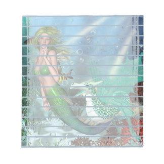Best Friends Mermaid Fantasy Notepad
