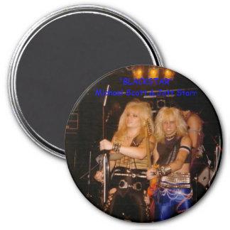 Best Friends Michael & MY HUSBAND JETT STARR 3 Inch Round Magnet