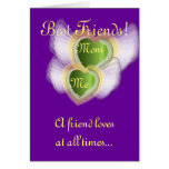 Best Friends!, Mom Me-Customize Greeting Cards