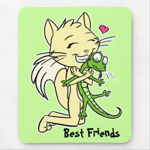 """""""Best Friends"""" Mousepad"""