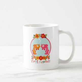 Best Friends Classic White Coffee Mug