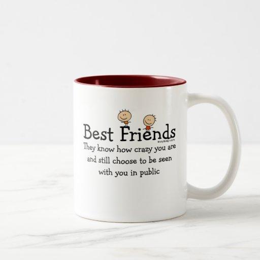 Best Friends Two Tone Coffee Mug Zazzle