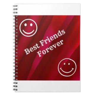 Best Friends Spiral Notebooks