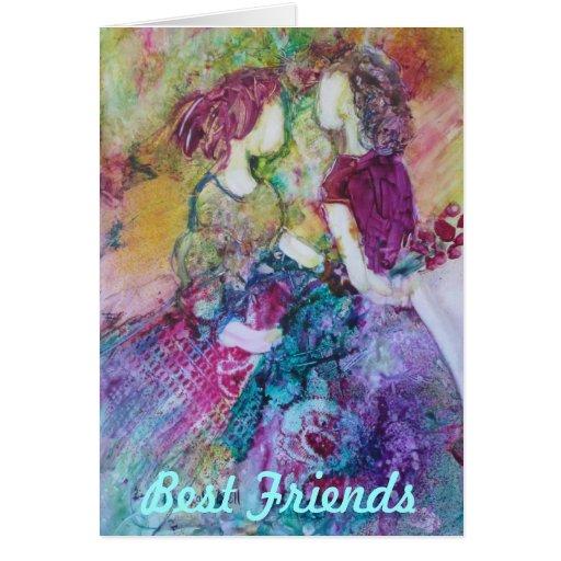 """Best Friends"""" Notecard"""
