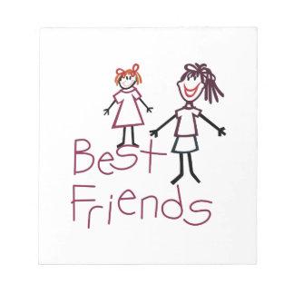Best Friends Notepad