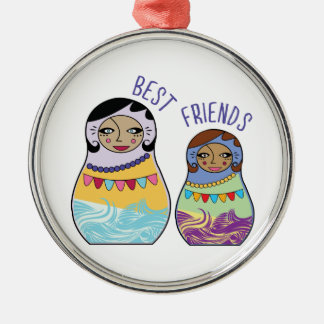 Best Friends Christmas Ornaments