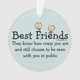 Best Friends Ornament