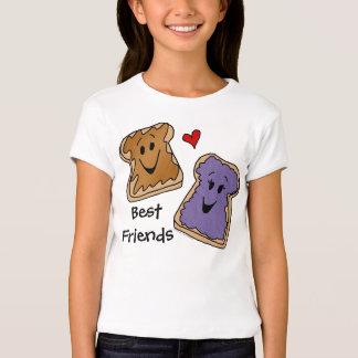 Best Friends, Peanut Butter Jelly Cartoon T-Shirt