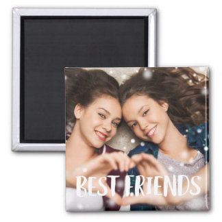 Best Friends Photo Magnet