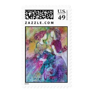 """""""Best Friends"""" Postage Stamp"""