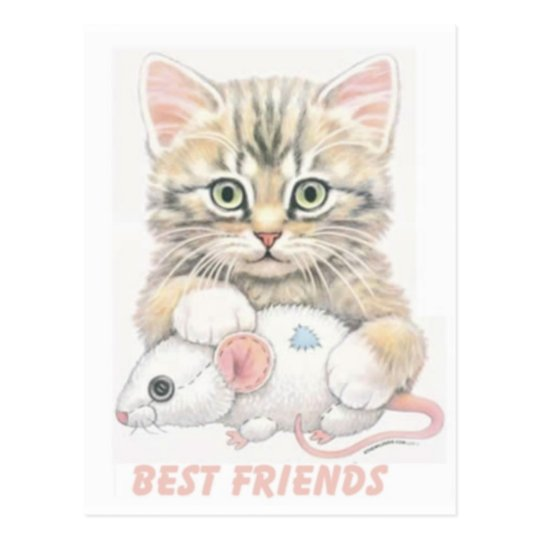 Best Friends Postcard