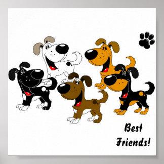 Best Friends! Print