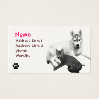 Best Friends Print Business Card