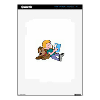 Best Friends Reading iPad 3 Decal